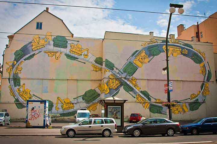 پراگ،گرافیتی۲