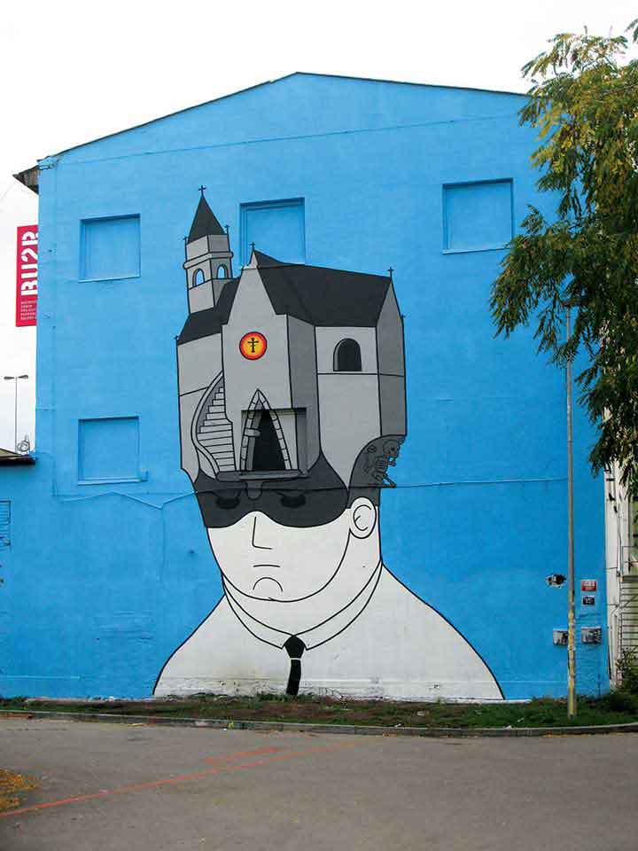 پراگ،گرافیتی۴
