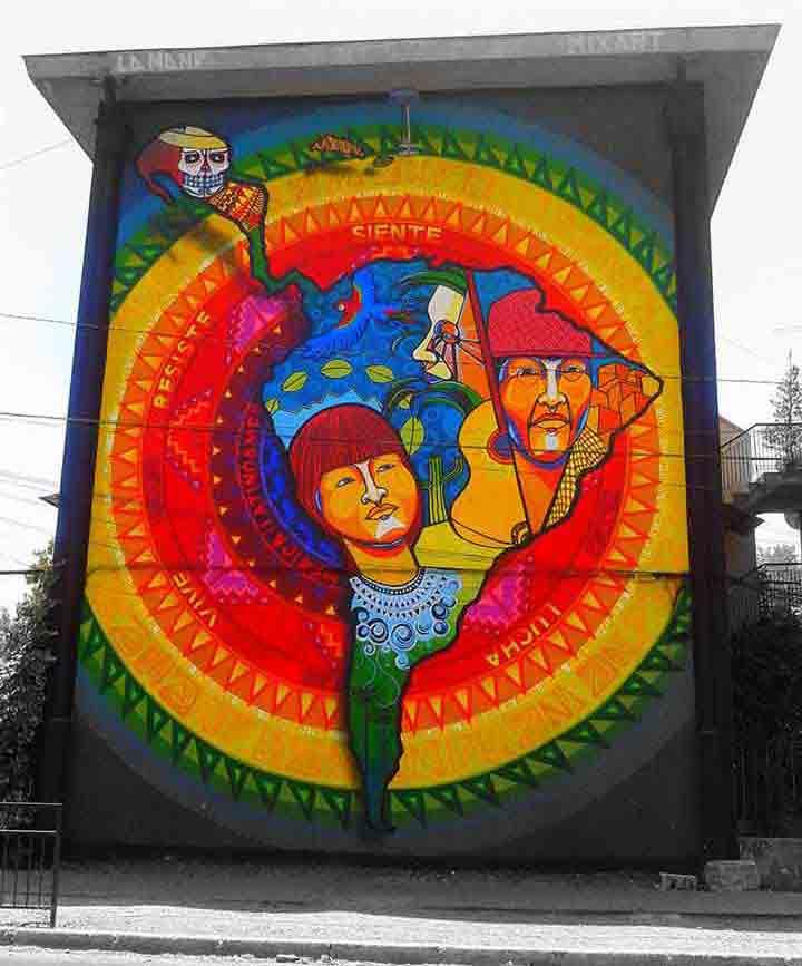 سانتیاگو،گرافیتی۱