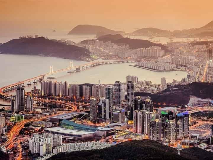 بوسان کره جنوبی یکی از زیباترین شهرهای جهان