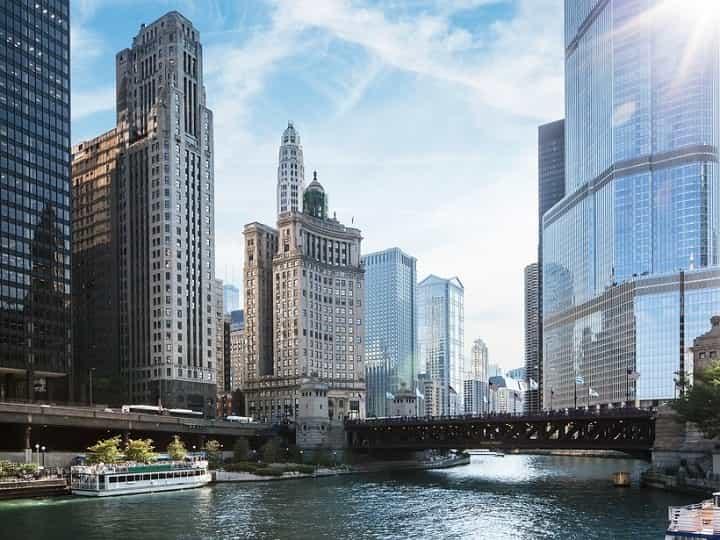 شیکاگو یکی از زیباترین شهرهای جهان