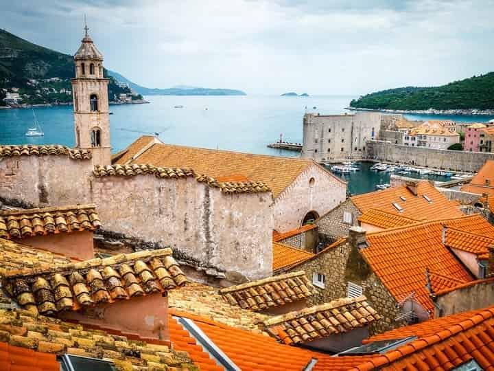 دوبروونیک کرواسی یکی از زیباترین شهرهای جهان