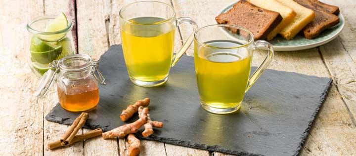 چای زردچوبه - کولیت زخمی