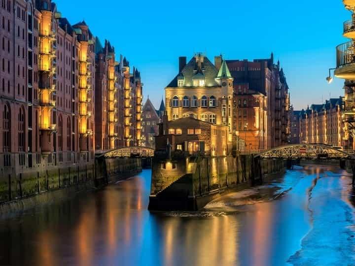 هامبورگ یکی از زیباترین شهرهای جهان