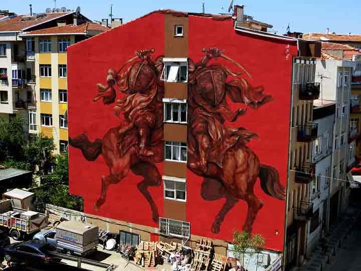 استانبول، گرافیتی