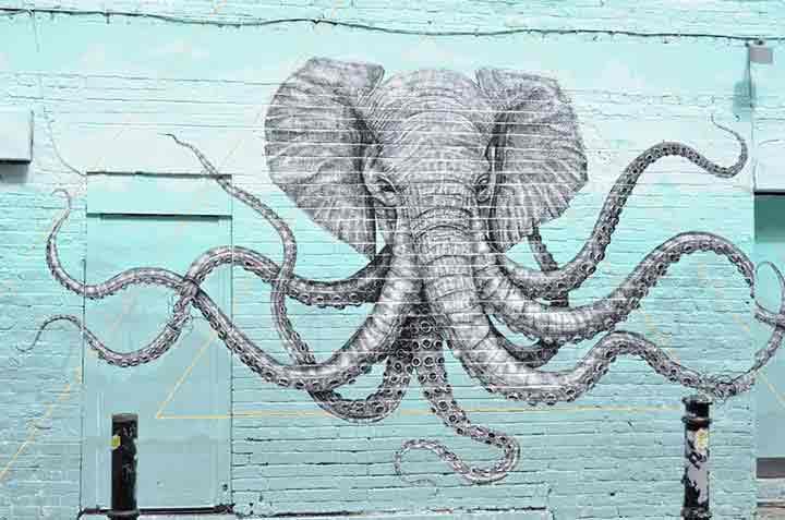 لندن،گرافیتی