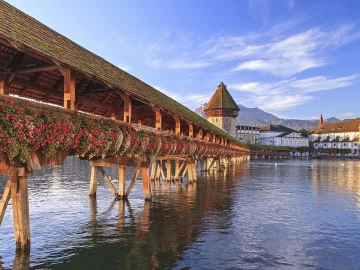 لوسرن سوئیس یکی از زیباترین شهرهای جهان