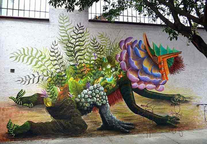 مکزیک، گرافیتی۱