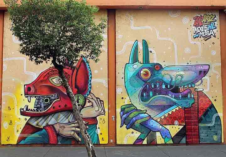 مکزیک،گرافیتی۳