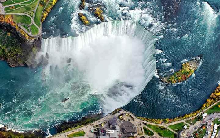 جاهای دیدنی تورنتو - آبشار نیاگارا