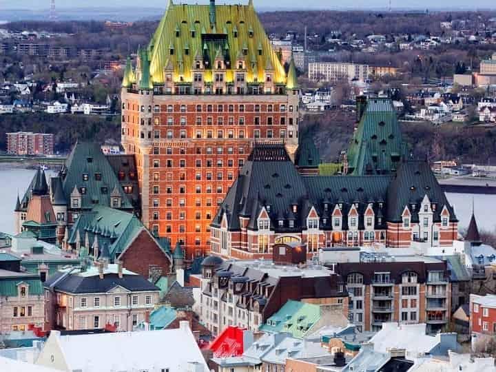 کبک کانادا یکی از زیباترین شهرهای جهان