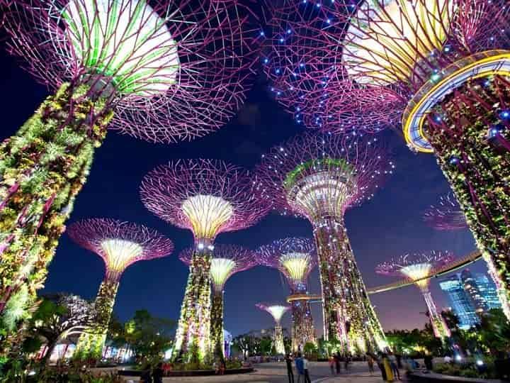 شهر سنگاپور یکی از زیباترین شهرهای جهان