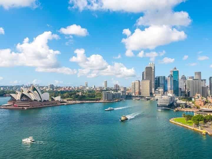 سیدنی یکی از زیباترین شهرهای جهان