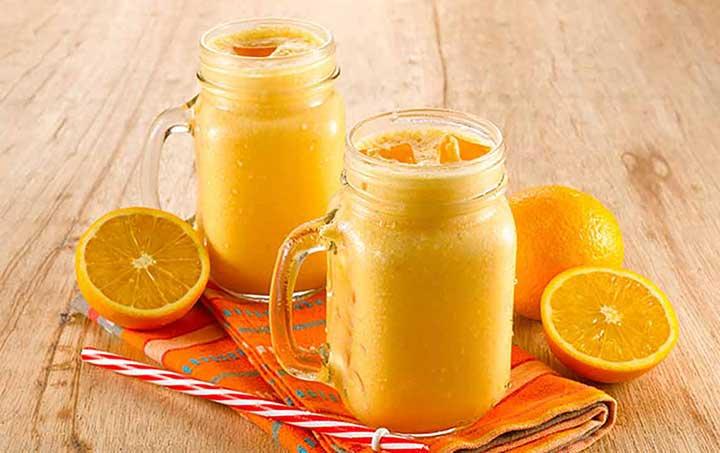 اسموتی پرتقال-ماست