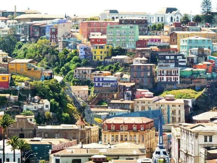 والپارایسو شیلی یکی از زیباترین شهرهای جهان
