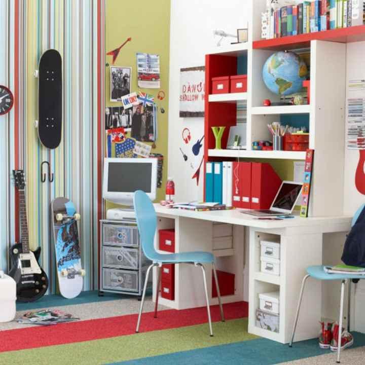 دکوراسیون اتاق خواب پسرانه - وسایل طراحیشدهی متناسب با اتاق
