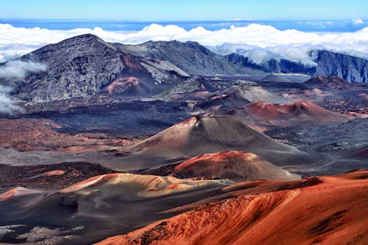 پارک ملی هالیاکالا در جزایر هاوایی