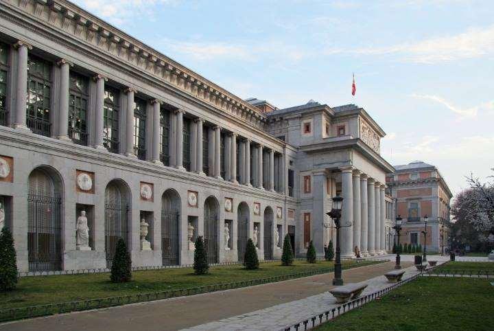 موزه پرادو از مکانهای دیدنی مادرید