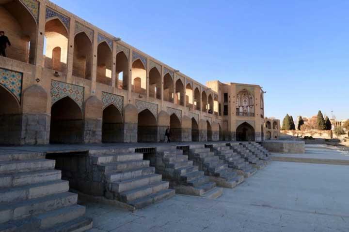 جاهای دیدنی اصفهان - پل خواجو