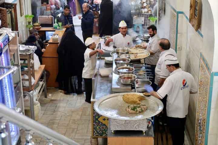 جاهای دیدنی اصفهان - غذا
