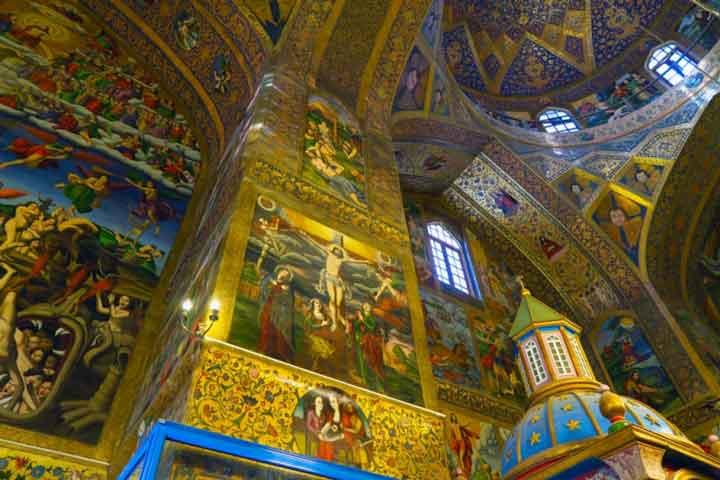 جاهای دیدنی اصفهان - وانک