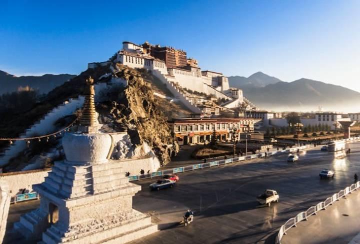 قصر پوتالا در تبت - سفر به چین