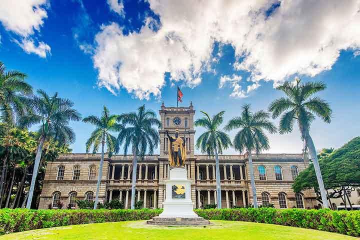 قصر آیولانی در جزایر هاوایی