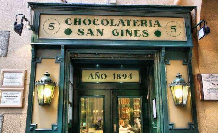 شکلات فروشی سان خینس - مکانهای دیدنی مادرید