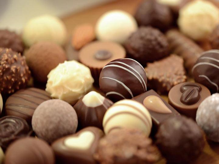 سوئیس: شکلات