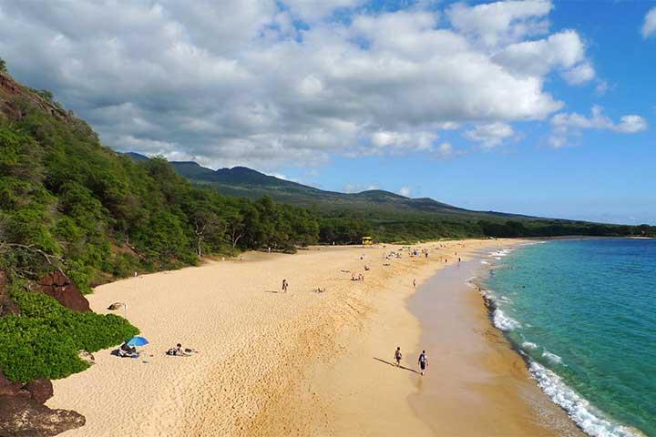 پارک ملی ماکنا بیچ در جزایر هاوایی