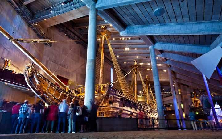 جاهای دیدنی استکهلم - موزهی واسا