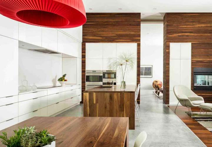 دکوراسیون آشپزخانه مدرن - آشپزخانهای با ظاهر ساده و دلپسند