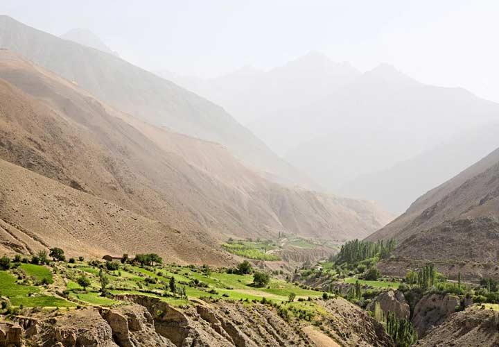 جاهای دیدنی تاجیکستان - کوههای فان