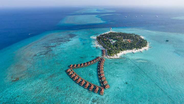 بهشت در مالدیو