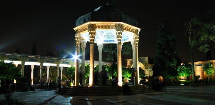 آرامگاه حافظ از جاهای دیدنی شیراز