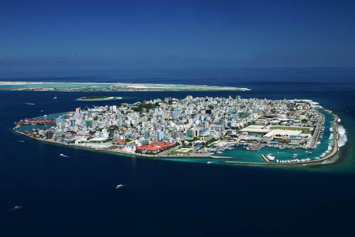 ماله پایتخت زیبای مالدیو