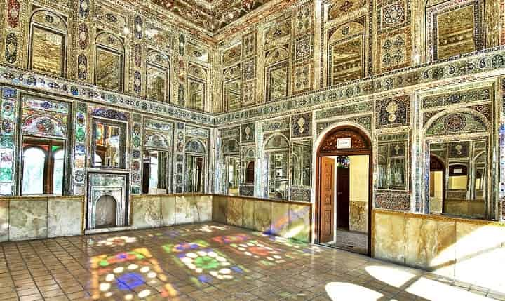 خانه زینت الملک از جاهای دیدنی شیراز