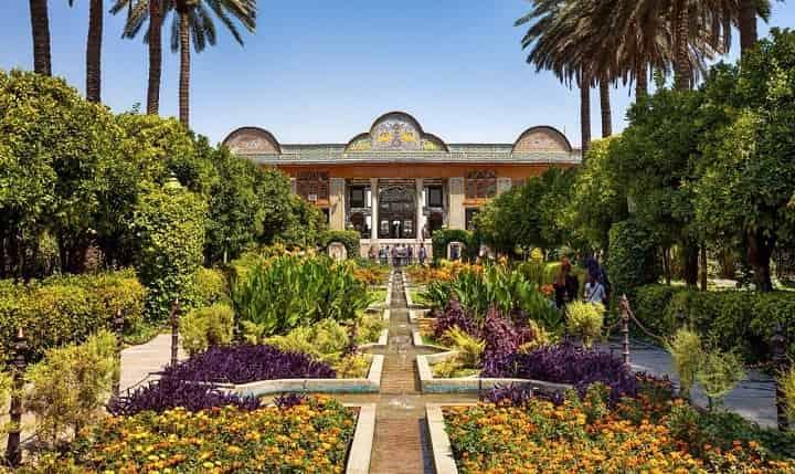 باغ نارنجستان از جاهای دیدنی شیراز