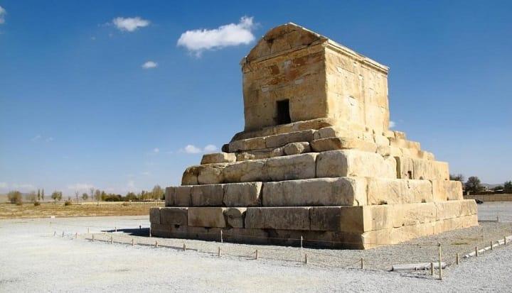 پاسارگاد از جاهای دیدنی شیراز