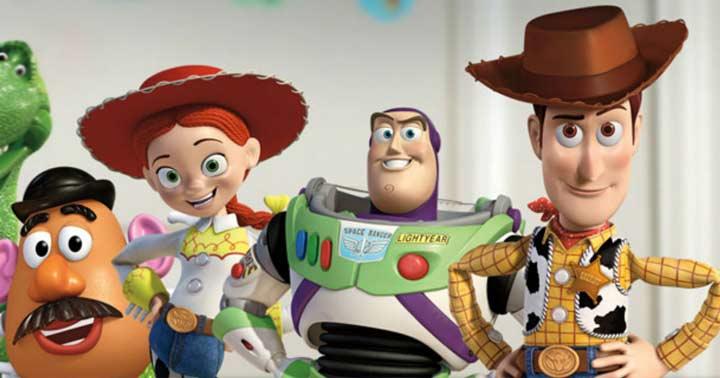 بهترین انیمیشن ها، اسباب بازی