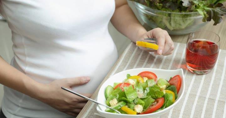رژیم غذایی سلامت برای اضافه وزن در بارداری