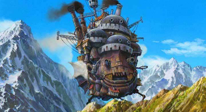 بهترین انیمیشن ها، قصر متحرک
