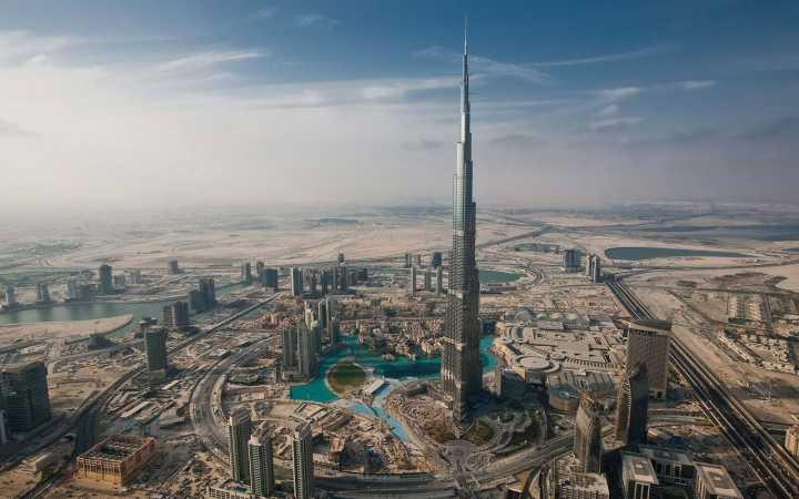 بلندترین برج جهان - برج خلیفه، امارات متحدهی عربی