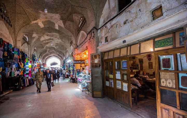 جاهای دیدنی کرمان - بازار سراسری