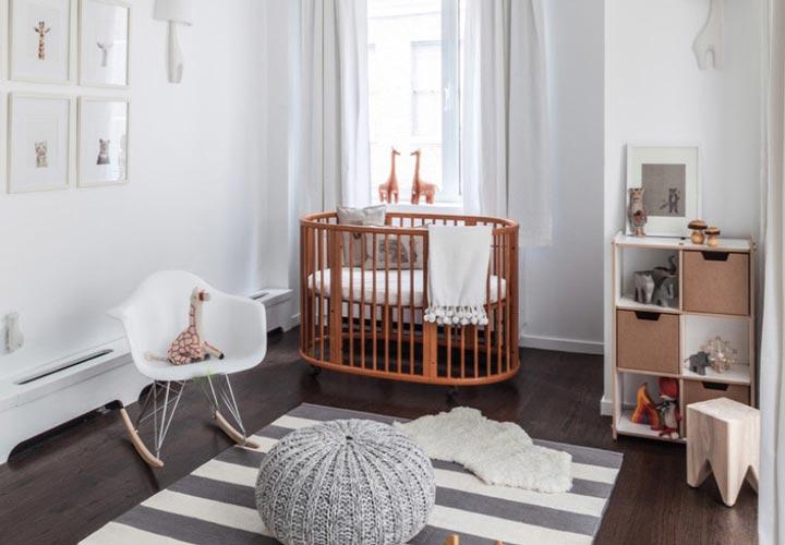 دکوراسیون اتاق نوزاد ـ انتخاب گهوارهی مناسب