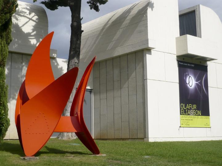 موزه خوان میرو از جاهای دیدنی بارسلونا