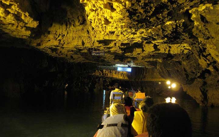 جاهای دیدنی همدان - غار علیصدر