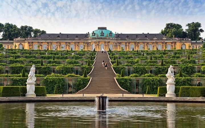 جاهای دیدنی آلمان - پارک و کاخ سانسوسی