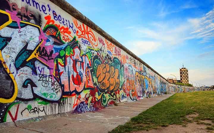 جاهای دیدنی آلمان - دیوار برلین