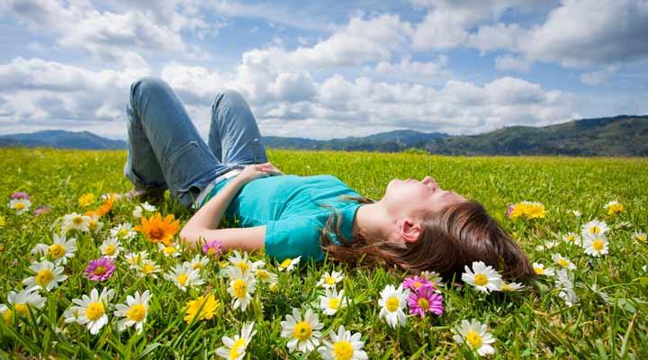 چگونه آرامش روحی پیدا کنیم - به ذهنتان استراحت دهید